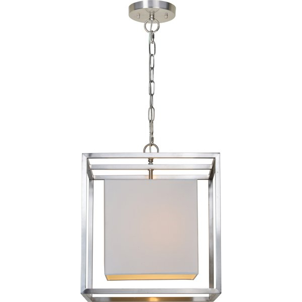 Bunnell 1 Light Single Square Pendant Regarding Akash Industrial Vintage 1 Light Geometric Pendants (Image 9 of 25)