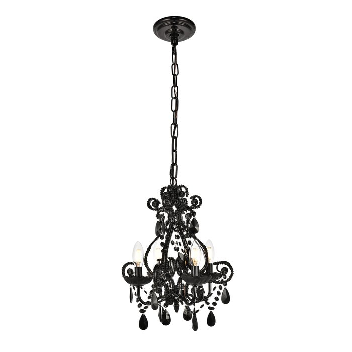 Burcott 4 Light Candle Style Chandelier Within Aldora 4 Light Candle Style Chandeliers (View 7 of 20)