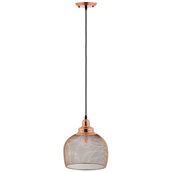 Burslem 1 Light Single Dome Pendantwrought Studio Pertaining To 1 Light Single Dome Pendants (Image 7 of 25)