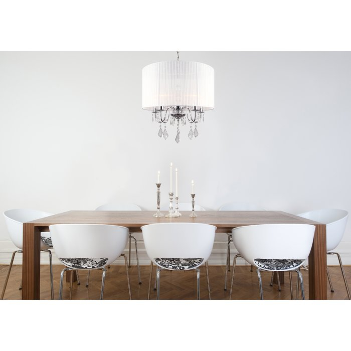 Buster 5 Light Drum Chandelier With Regard To Buster 5 Light Drum Chandeliers (View 4 of 20)
