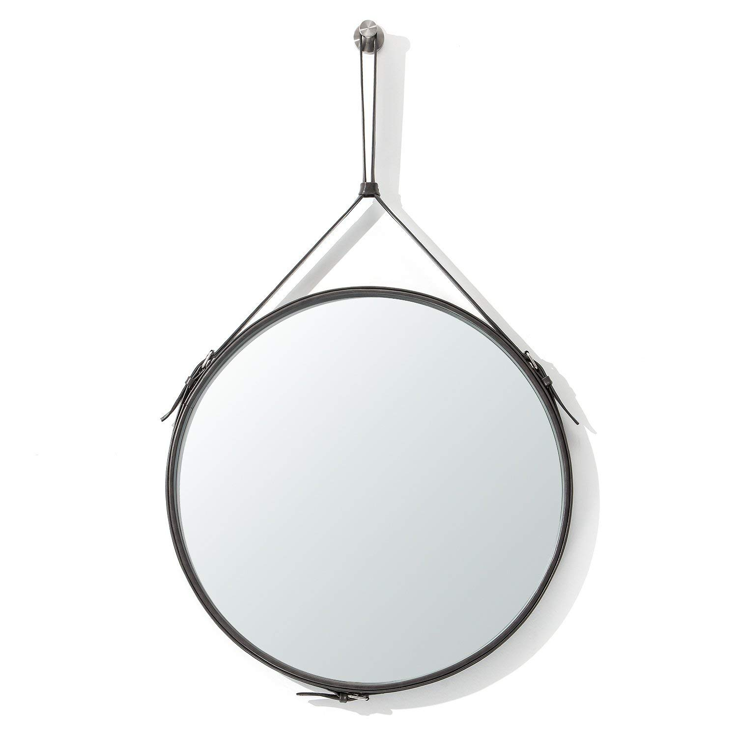 Buy Decorative Wall Mirror Round Shape Kentwood Collection Throughout Kentwood Round Wall Mirrors (View 11 of 20)