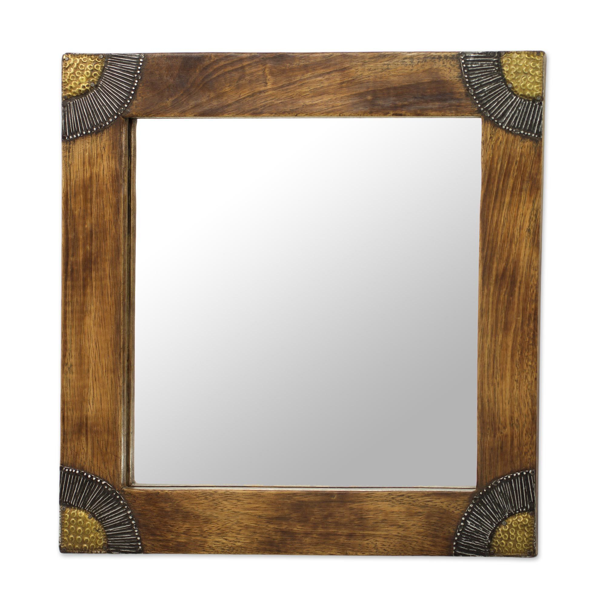 Buy Glass, Square Mirrors Online At Overstock | Our Best Intended For Lidya Frameless Beveled Wall Mirrors (Image 9 of 20)