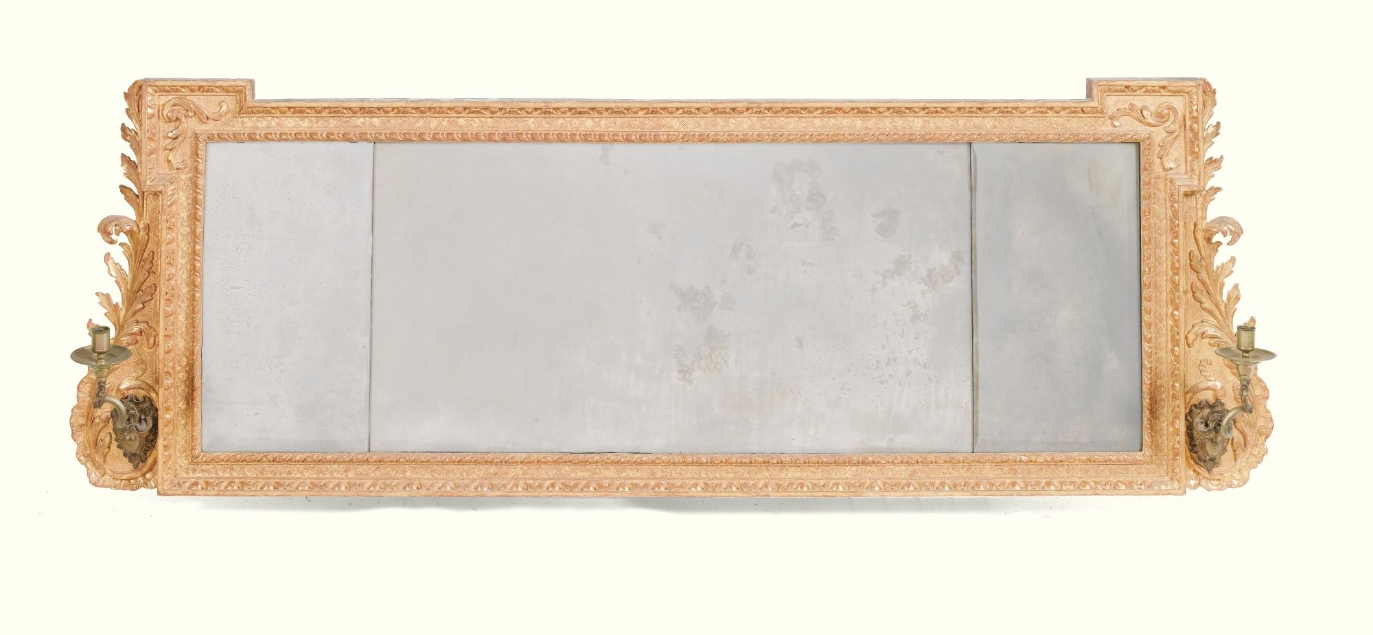 C1740 A George Ii Giltwood Overmantel Mirror Circa 1740 In Modern & Contemporary Beveled Overmantel Mirrors (View 10 of 20)