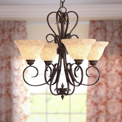 Cabbage Soup Diet For Rapid Weight Loss In Gaines 5 Light Shaded Chandeliers (View 8 of 20)