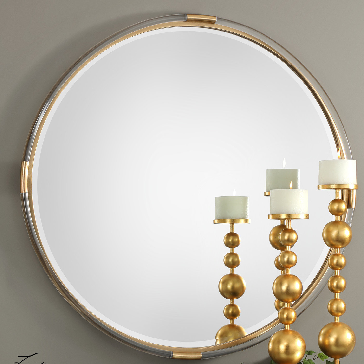 Cabrillo Mackai Modern & Contemporary Accent Mirror Intended For Mahanoy Modern And Contemporary Distressed Accent Mirrors (Image 4 of 20)