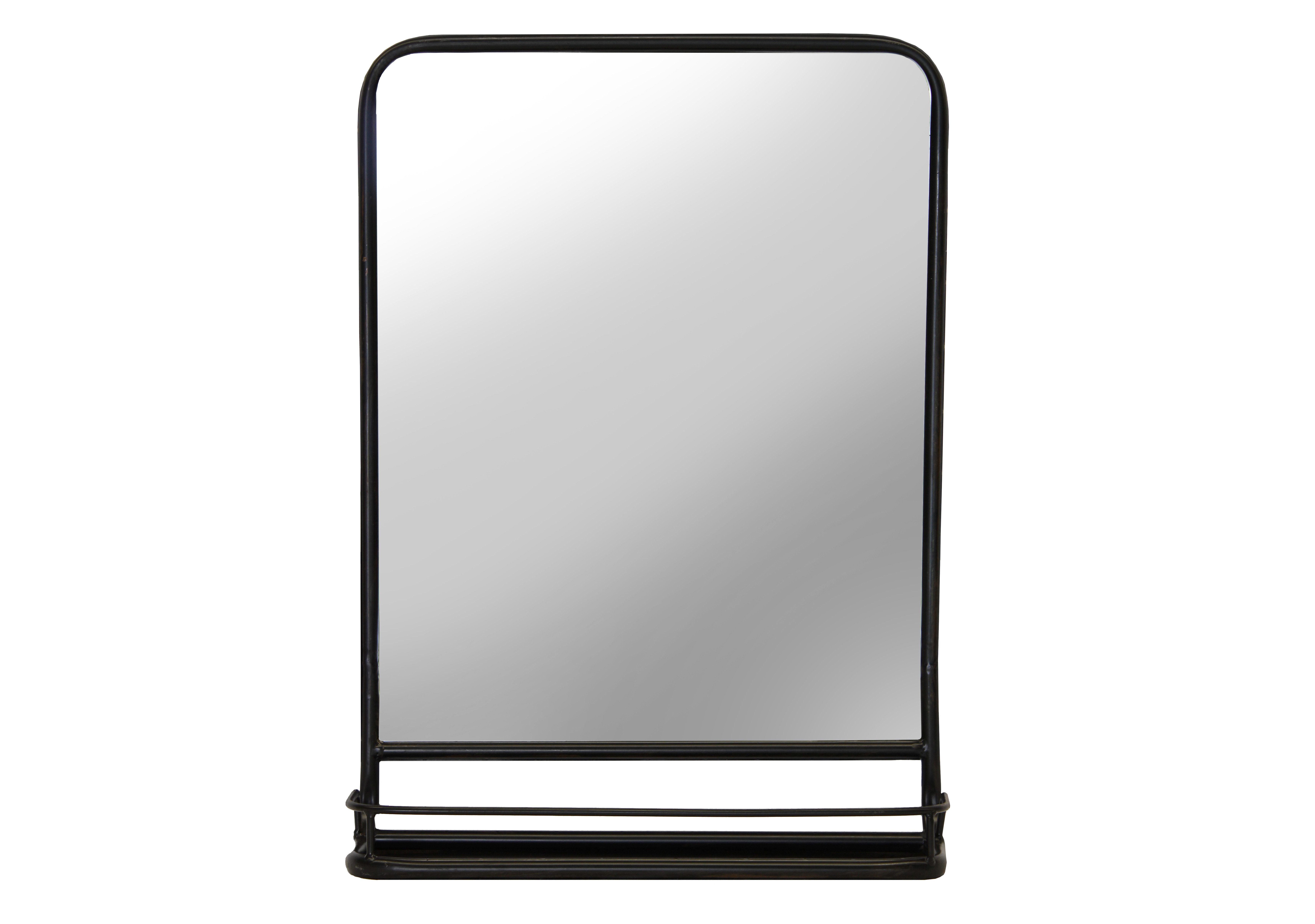 Cadbury Metal Cottage/country Accent Mirror In Koeller Industrial Metal Wall Mirrors (Image 2 of 20)