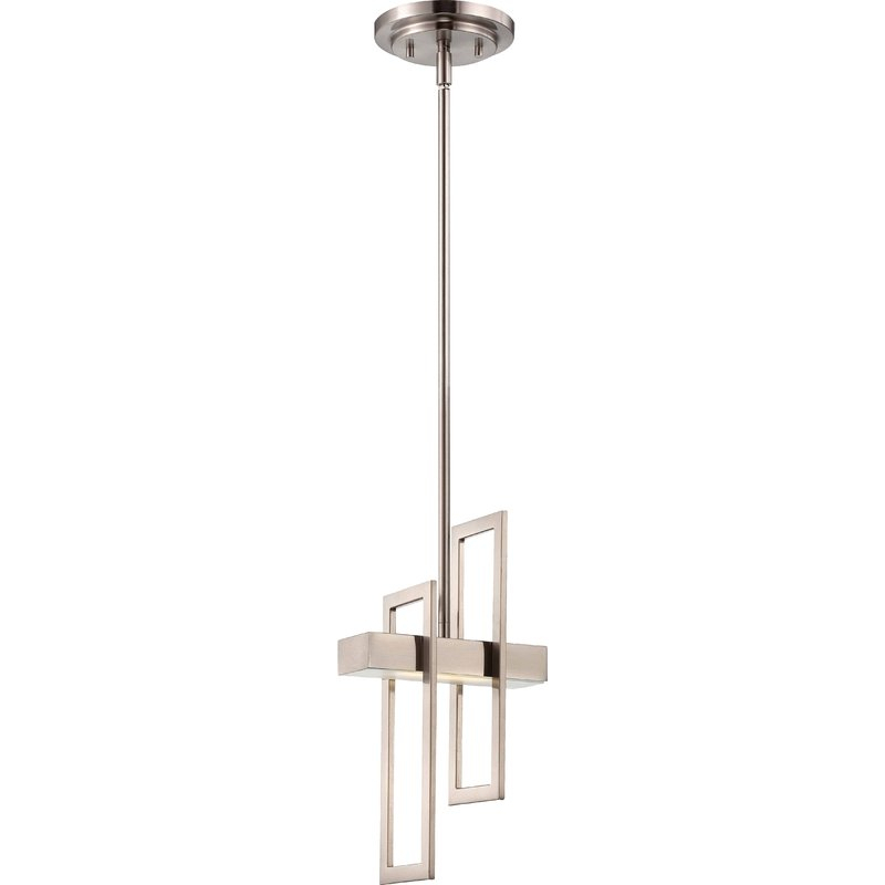 Callington 1 Light Led Single Geometric Pendant Intended For Oldbury 1 Light Single Cylinder Pendants (View 15 of 25)