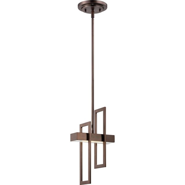 Callington 1 Light Led Single Geometric Pendant With Callington 1 Light Led Single Geometric Pendants (View 2 of 25)