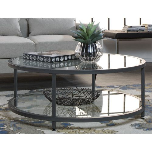 Camber Coffee Table In 2019 | Shawn And Kate Mcdonald With Regard To Carbon Loft Heimlich Metal Glass Rectangle Coffee Tables (View 11 of 25)