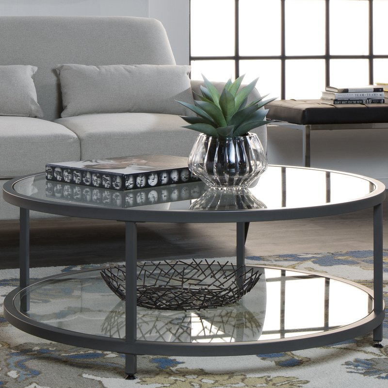 Camber Coffee Table Intended For Madison Park Susie Coffee Tables 2 Color Option (View 3 of 25)