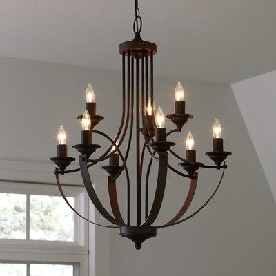Camilla 9 Light Candle Style Chandelier – Decor Pins With Regard To Camilla 9 Light Candle Style Chandeliers (View 6 of 20)