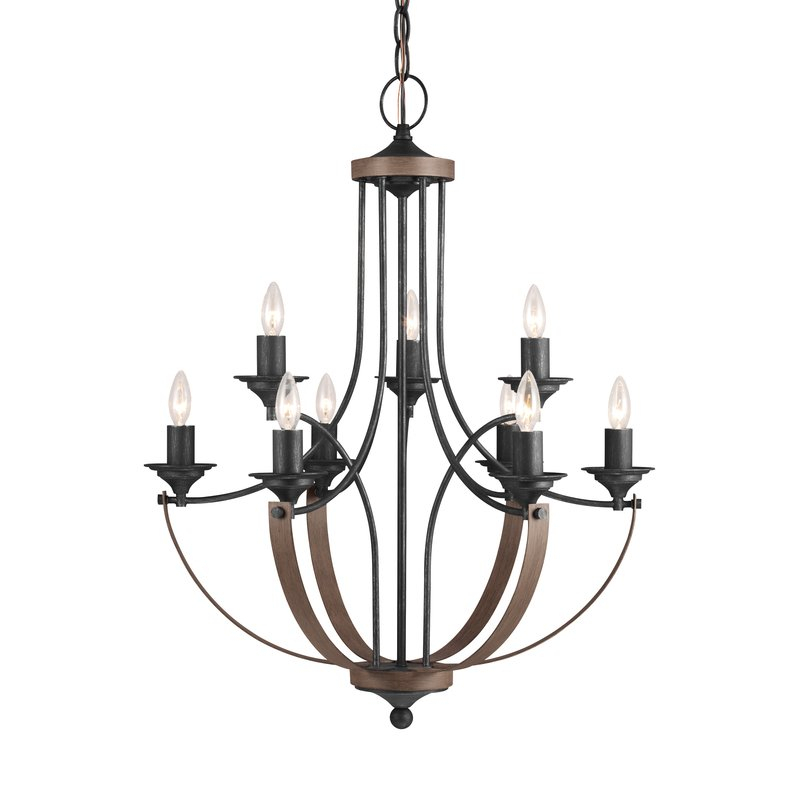 Featured Image of Camilla 9 Light Candle Style Chandeliers