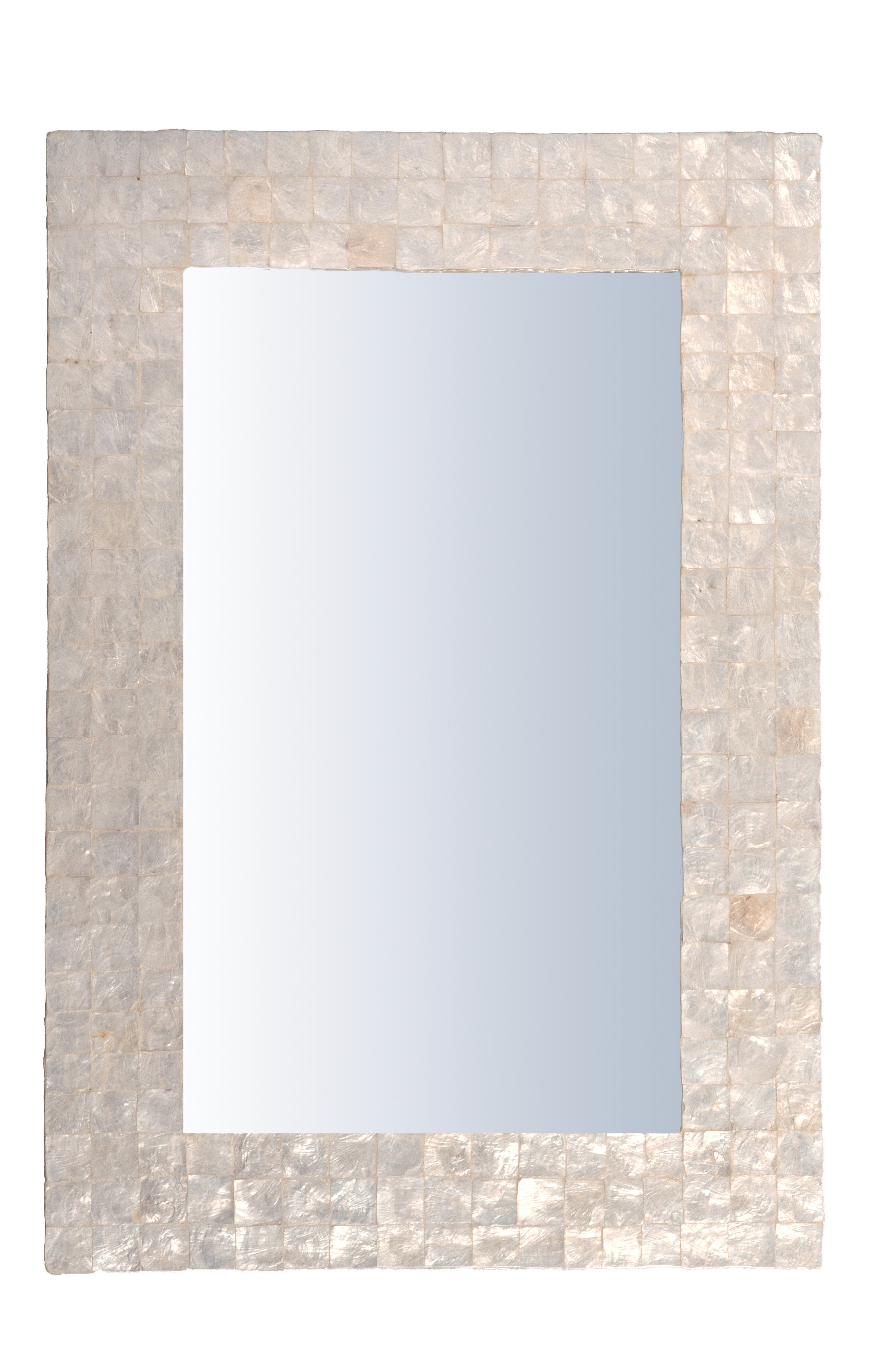 Capiz Shell Accent Mirror Throughout Abdul Accent Mirrors (View 9 of 20)
