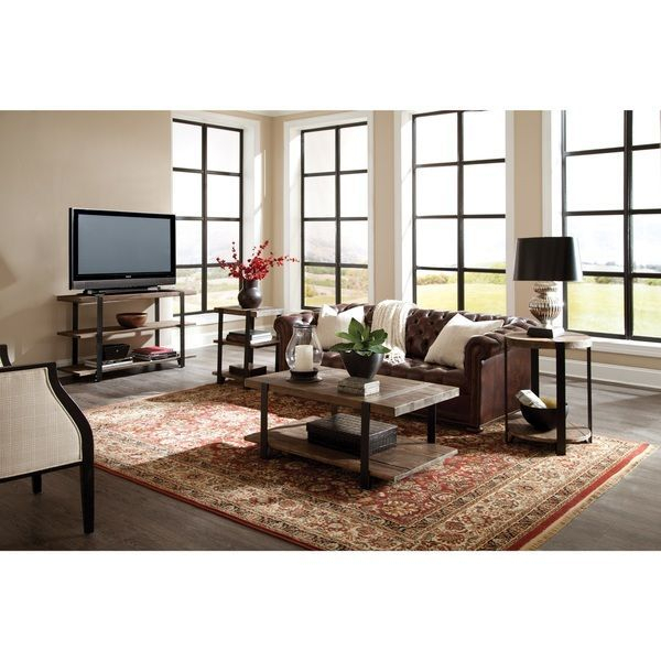 Carbon Loft Kenyon Natural Rustic Coffee Table | Bedroom Intended For Carbon Loft Kenyon Natural Rustic Coffee Tables (Image 7 of 25)