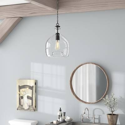 Carey 1 Light Single Bell Pendant In 2019 | Kitchen Ideas Inside Carey 1 Light Single Bell Pendants (View 12 of 25)