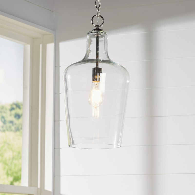 Featured Image of Carey 1 Light Single Bell Pendants