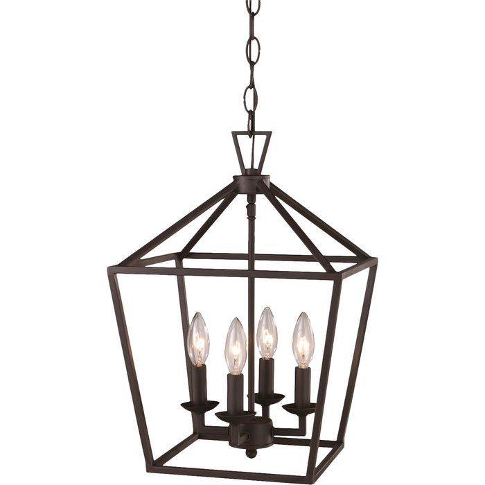 Carmen 4 Light Lantern Square/rectangle Pendant | Dream Home Pertaining To 4 Light Lantern Square / Rectangle Pendants (Image 8 of 20)