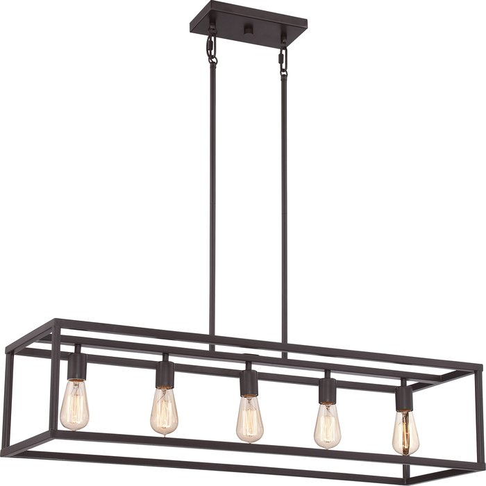 Cassie 5 Light Kitchen Island Linear Pendant For Bouvet 5 Light Kitchen Island Linear Pendants (View 5 of 25)
