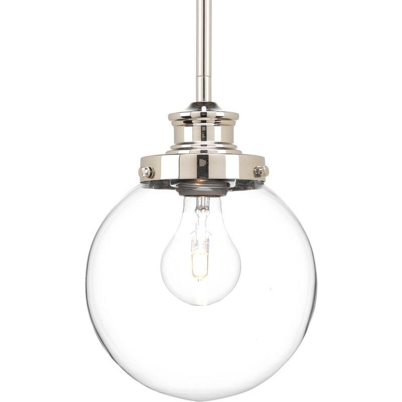 Cayden 1 Light Single Globe Pendant For Gehry 1 Light Single Globe Pendants (View 17 of 25)