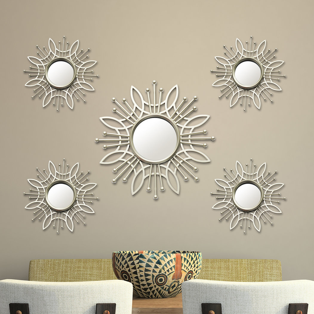 Champagne Colored Wall Mirror   Wayfair Regarding Polen Traditional Wall Mirrors (View 7 of 20)
