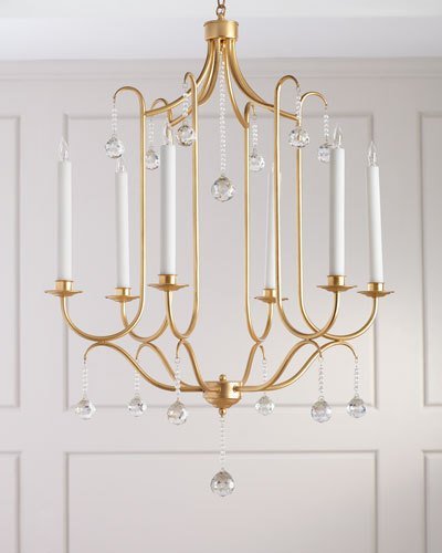 Chandelier Lighting At Horchow Intended For Jill 4 Light Drum Chandeliers (Image 6 of 20)