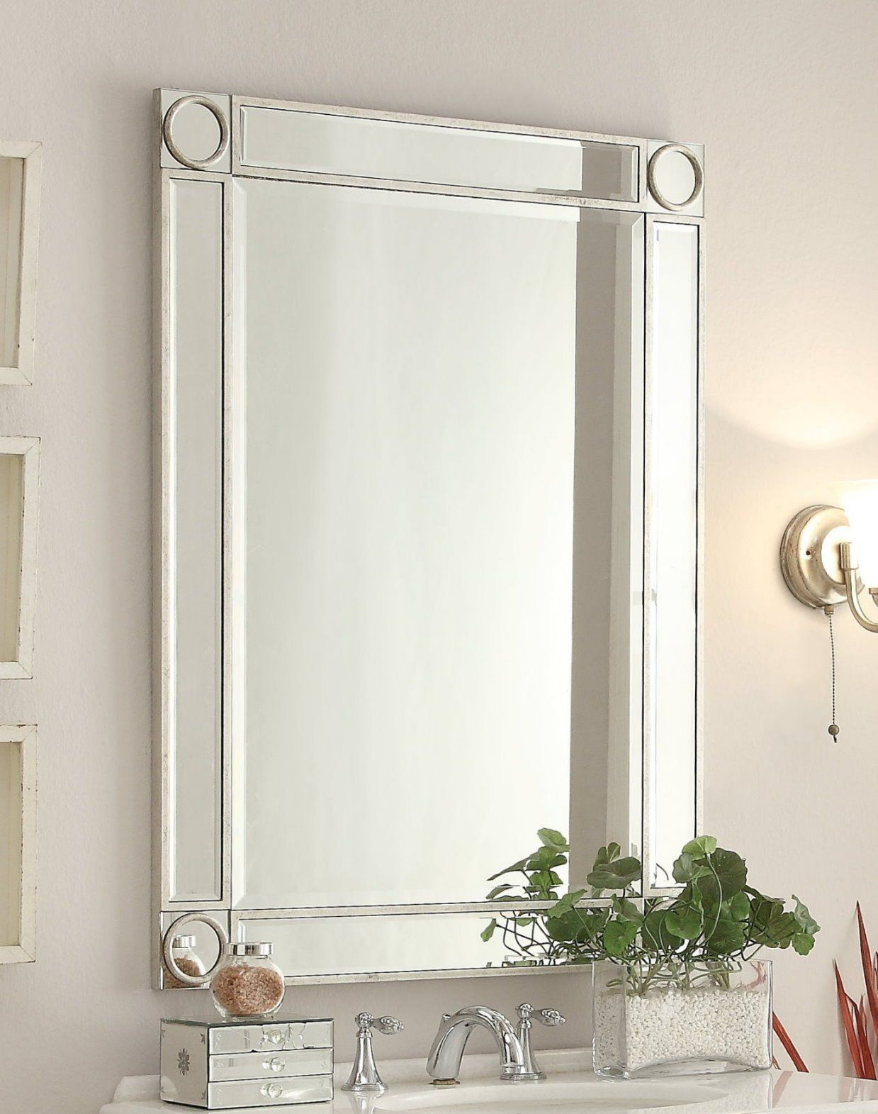 Chans Furniture – Keene 28 Inch Wall Mirror 3392Sl | Mirrors With Regard To Ansgar Accent Mirrors (View 16 of 20)
