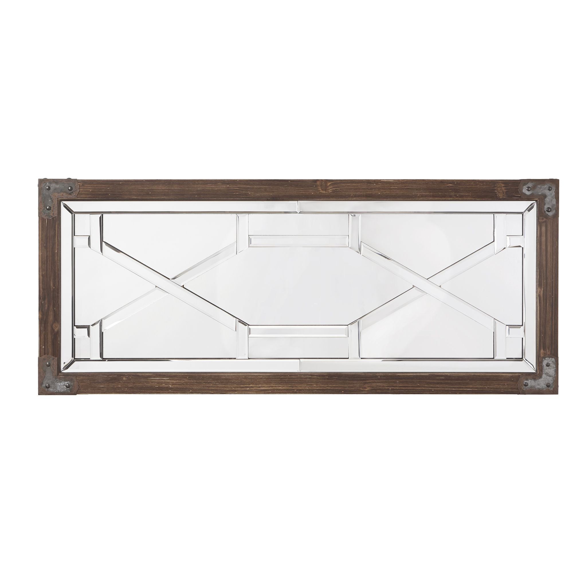 Choquette Modern And Contemporary Full Length Mirror For Koeller Industrial Metal Wall Mirrors (Image 3 of 20)
