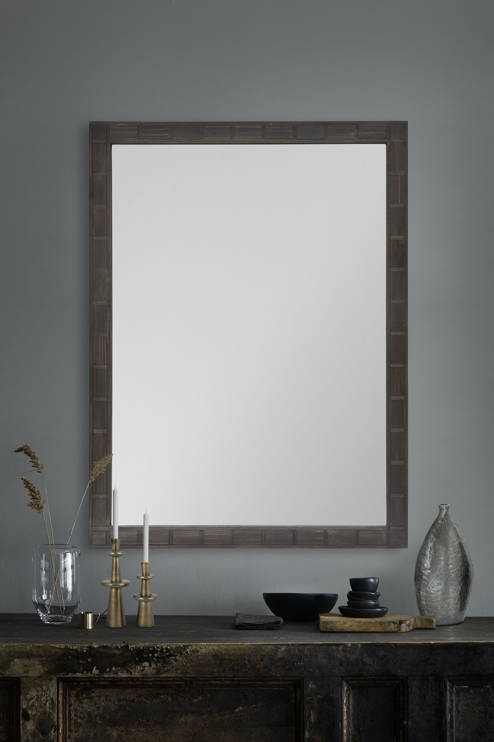 Chou Rustic Accent Mirror Inside Arrigo Accent Mirrors (View 9 of 20)