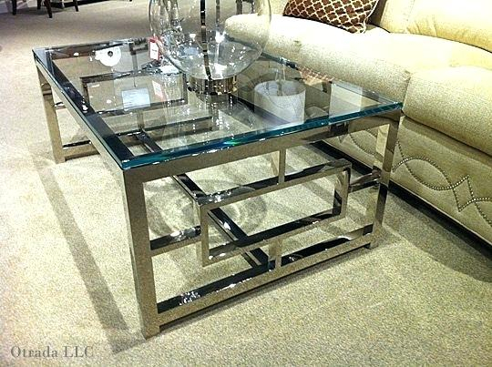 Chrome And Glass Coffee Table – Historyproef For Strata Chrome Glass Coffee Tables (View 16 of 25)