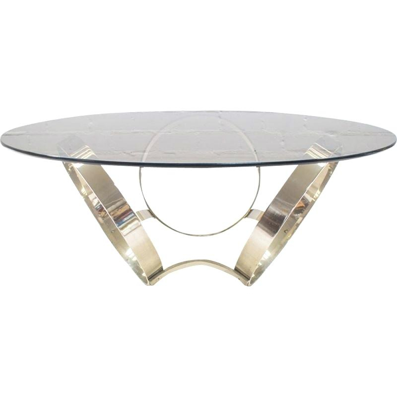 Chrome And Glass Coffee Table – Mamasports (View 9 of 25)