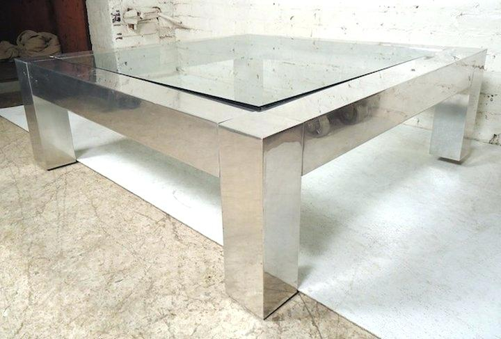Chrome And Glass Coffee Table – Swoonsome (View 19 of 25)