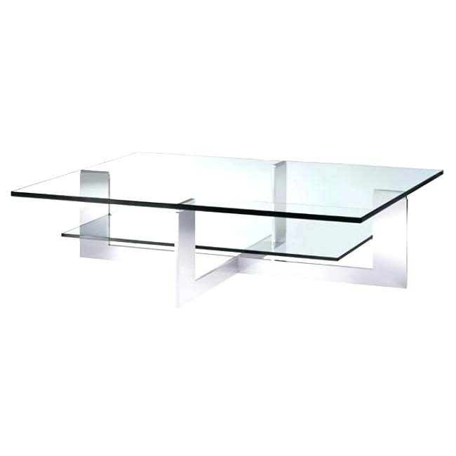 Chrome Glass Coffee Table Lovable Luxuriant Modern Chrome Regarding Strata Chrome Glass Coffee Tables (View 11 of 25)