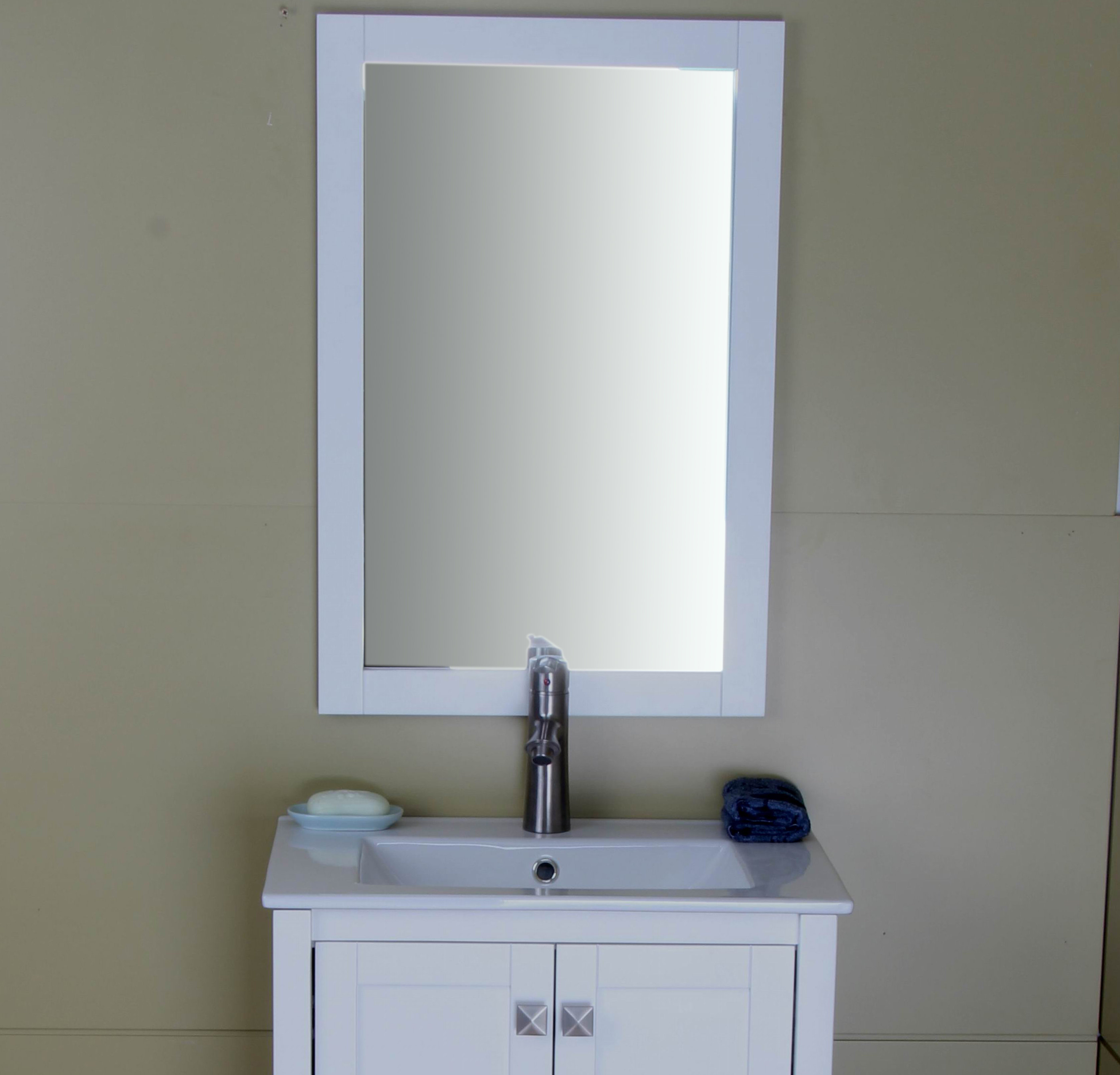 Chumley Bathroom/vanity Mirror Throughout Burgoyne Vanity Mirrors (View 11 of 20)