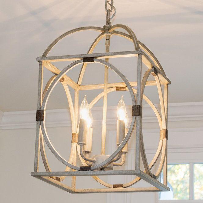Circle Lattice Hanging Lantern – 4 Light | Foyer & Entrance Throughout Taya 4 Light Lantern Square Pendants (View 13 of 20)