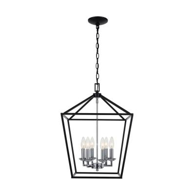 Classic – Black – Chandeliers – Lighting – The Home Depot For Donna 6 Light Globe Chandeliers (Image 2 of 20)