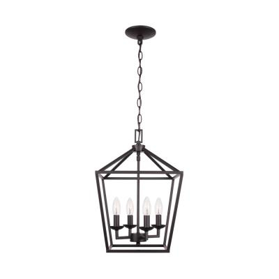 Classic – Chandeliers – Lighting – The Home Depot For Emaria 4 Light Unique / Statement Chandeliers (View 16 of 20)