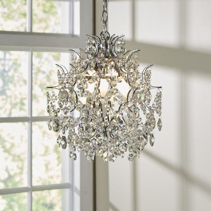 Featured Image of Clea 3 Light Crystal Chandeliers