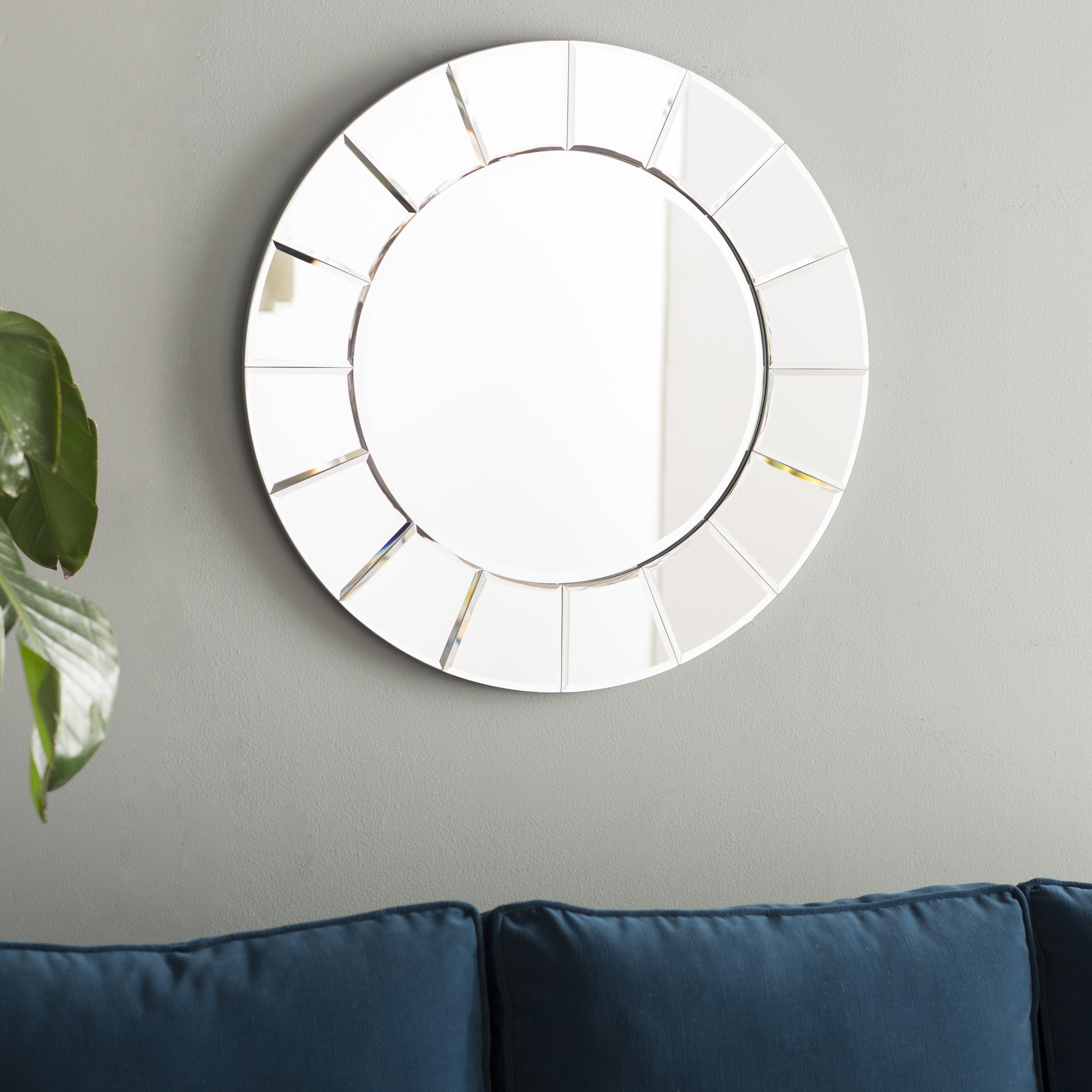 Clover Shaped Mirrors | Wayfair For Sun Shaped Wall Mirrors (Image 4 of 20)
