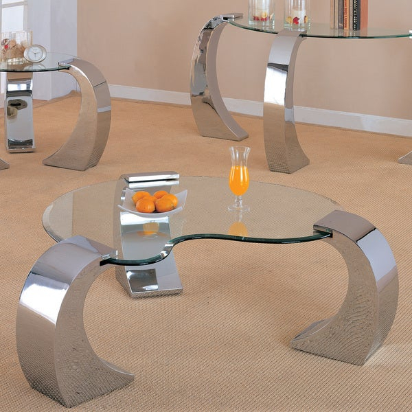 Featured Image of Coaster Company Silver Glass Coffee Tables