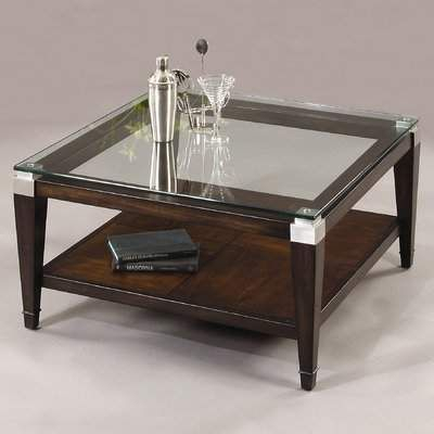 Coaster Furniture Satin Glass Top Coffee Table For Carmella Satin Plated Coffee Tables (View 47 of 50)