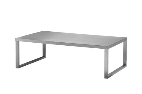 Coaster Furniture Satin Glass Top Coffee Table Intended For Carmella Satin Plated Coffee Tables (View 25 of 50)