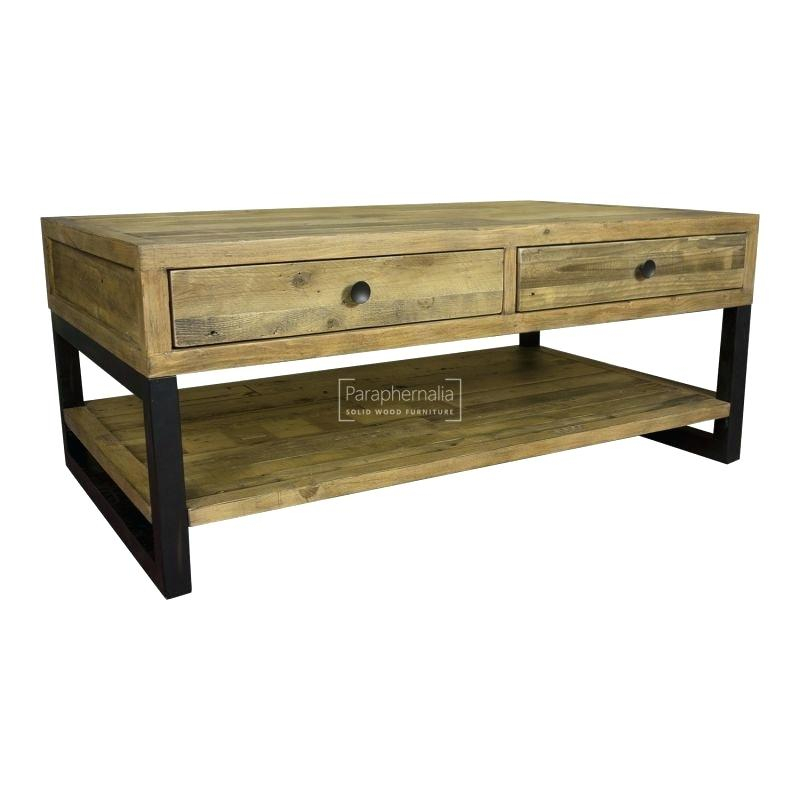 Coffee Table Industrial – Heytheredelilah (View 30 of 50)
