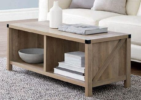 Coffee Table Rustic Oak | Walmart Canada For Rustic Oak Coffee Tables (Image 3 of 25)