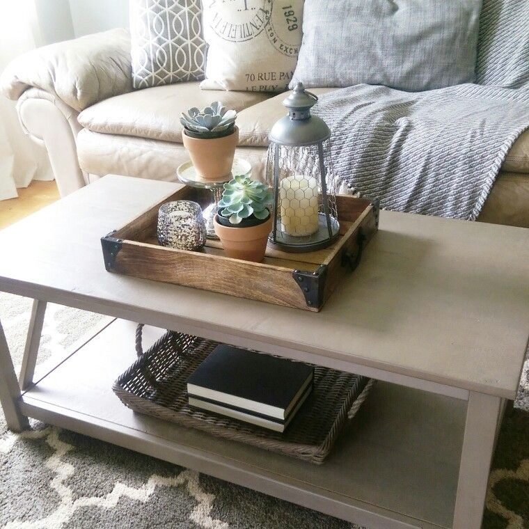 Coffee Table Styling. Gray Wash Coffee Table (View 23 of 25)