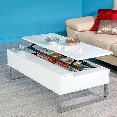 Coffee Table With Storage For Rustic Coffee Tables With Wicker Storage Baskets (Image 4 of 25)