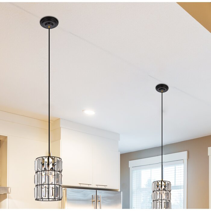 Colston 1 Light Single Cylinder Pendant In Fennia 1 Light Single Cylinder Pendants (View 16 of 25)