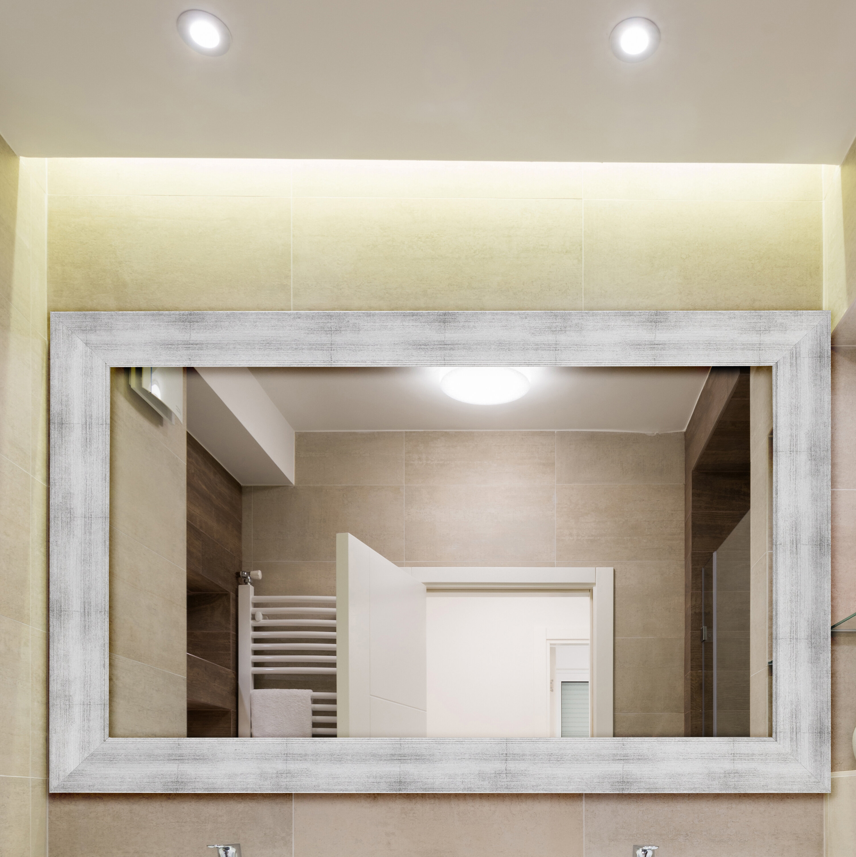 Conduit Avenue Modern & Contemporary Beveled Accent Mirror With Laurel Foundry Modern & Contemporary Accent Mirrors (View 11 of 20)