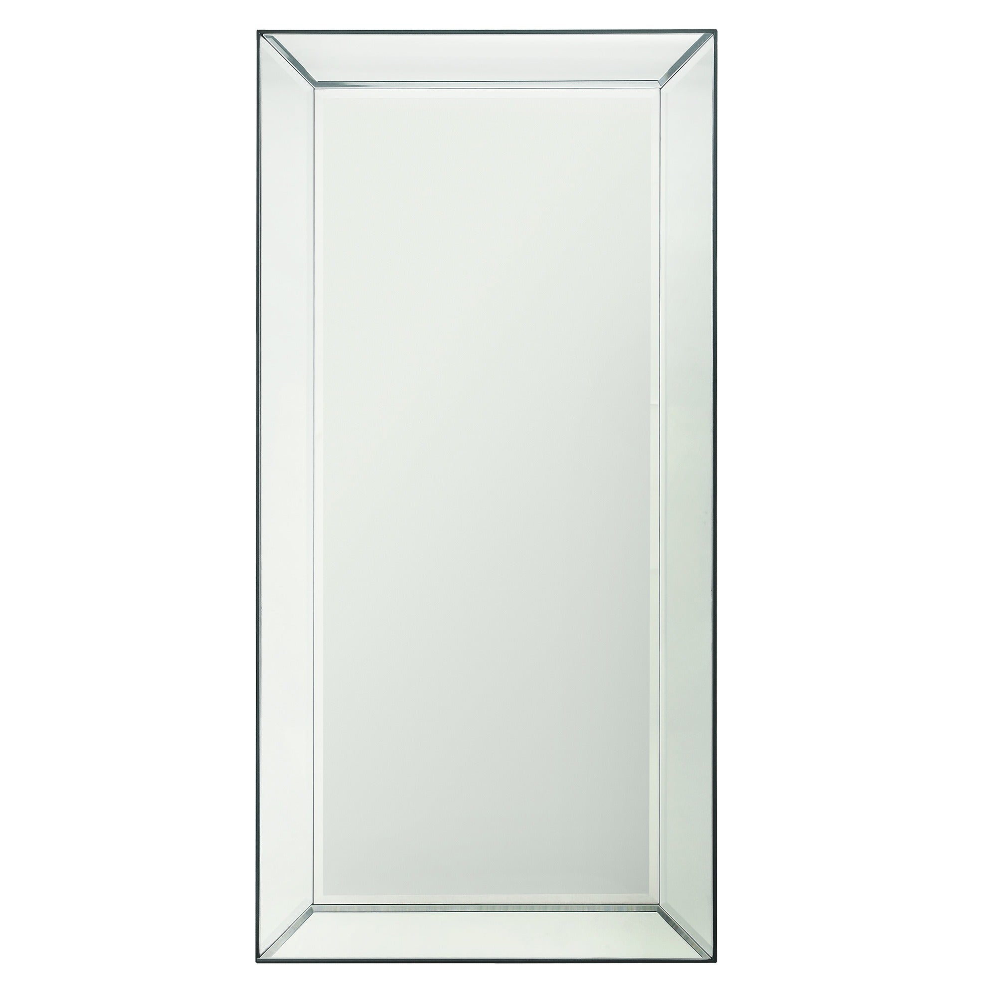 Conrad Mirrored Frame Rectangular Accent Wall Mirrorinspire Q Bold – Silver Inside Rectangle Accent Wall Mirrors (View 6 of 20)