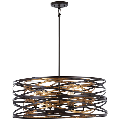 Contemporary And Modern Drum Pendant Lighting Free Shipping In Buster 5 Light Drum Chandeliers (View 12 of 20)