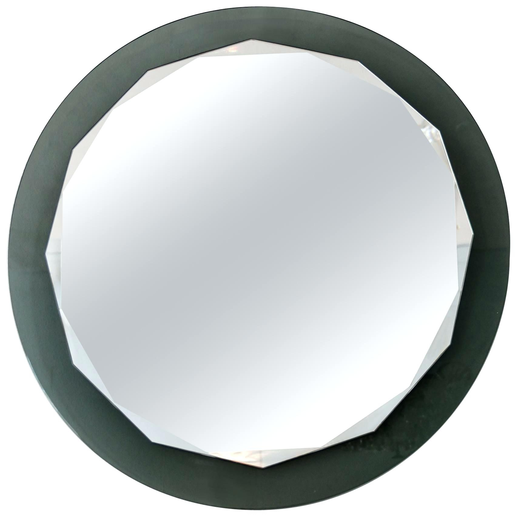 Contemporary Scalloped Wall Mirror Oval Frame – Centrorg Pertaining To Reign Frameless Oval Scalloped Beveled Wall Mirrors (Image 5 of 20)